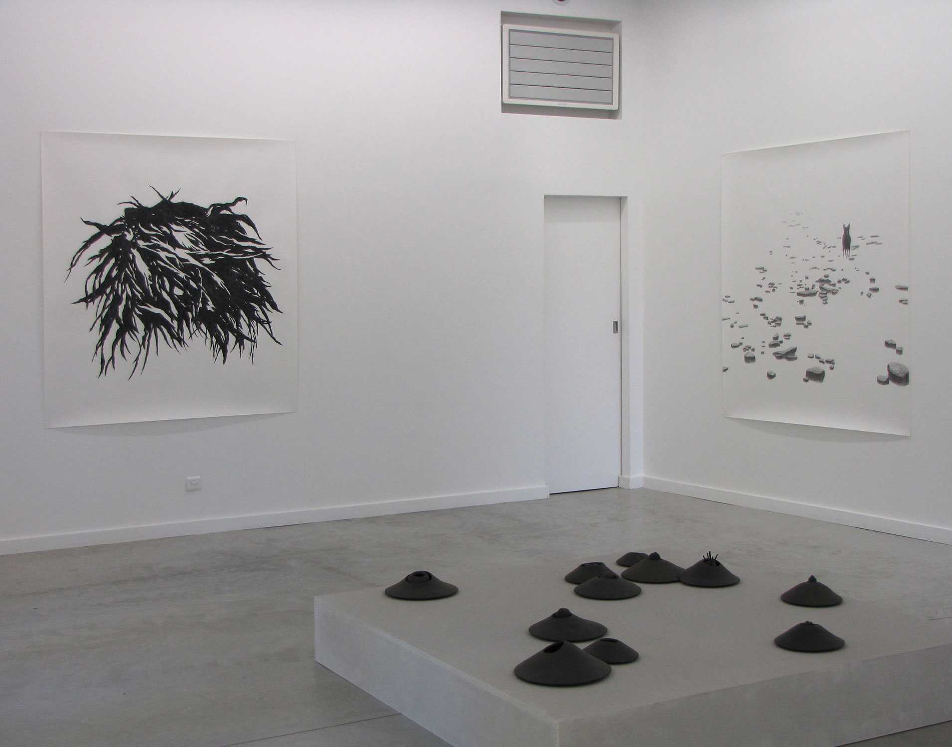 exposition <i>Zone</i>, galerie le 116art, 2009