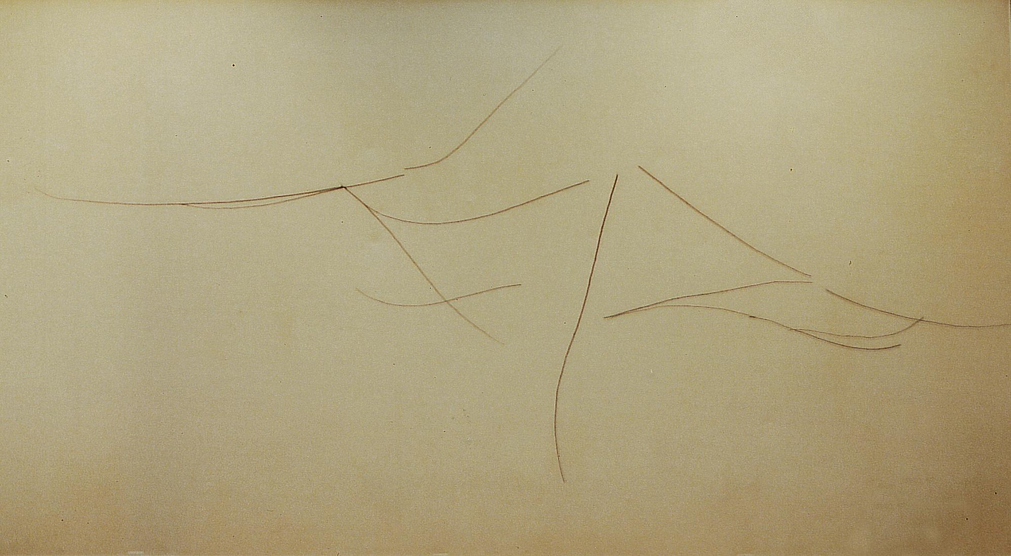 <i>Sans titre</i>, dessin/sculpture, 2002