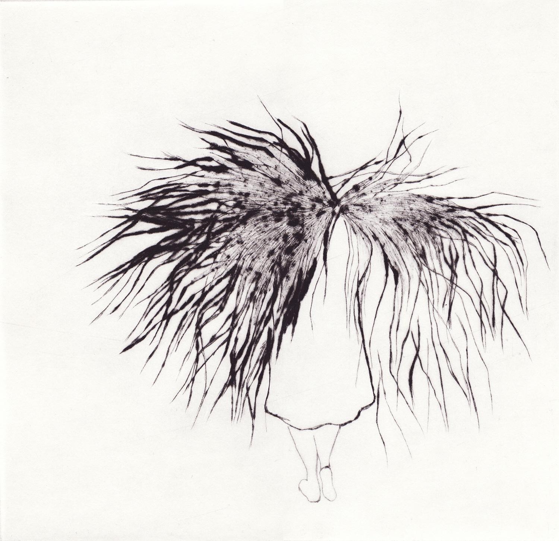 <i>portrait</i>, 2010 - gravure, pointe sèche