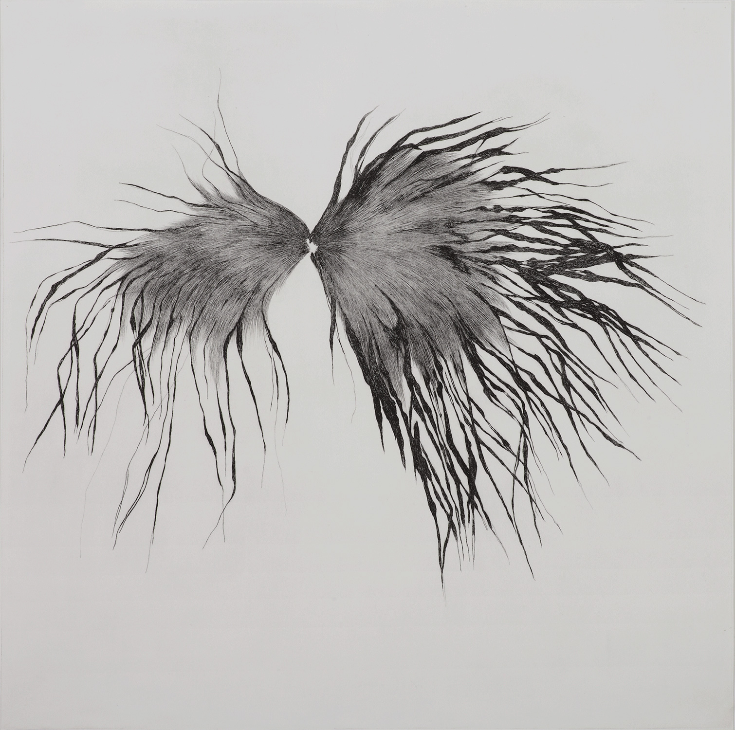 <i>Oeil</i>, 2009, 80x80cm  -  Courtesy PapelArt