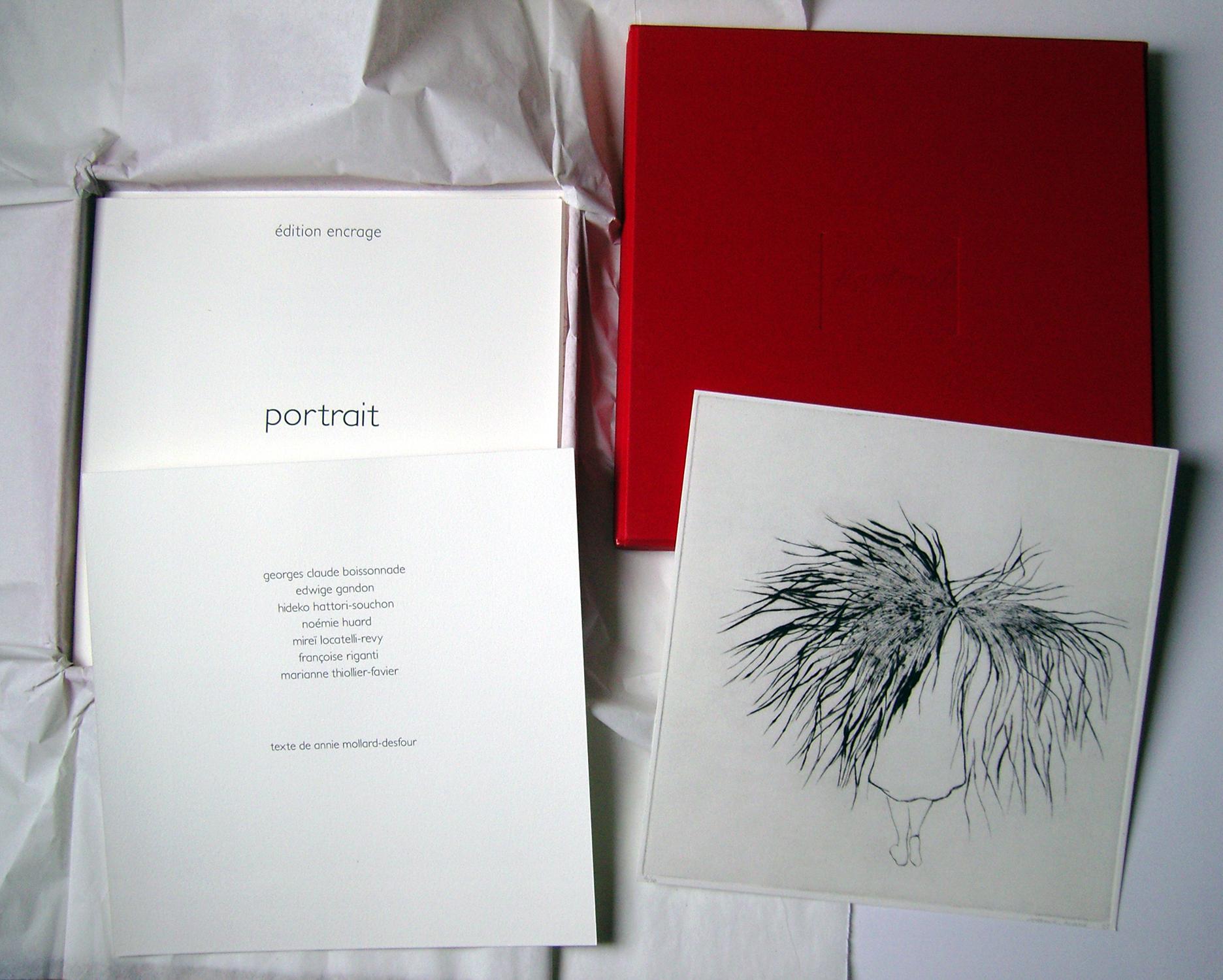 <i>portrait</i>, édition encrage, 2010
