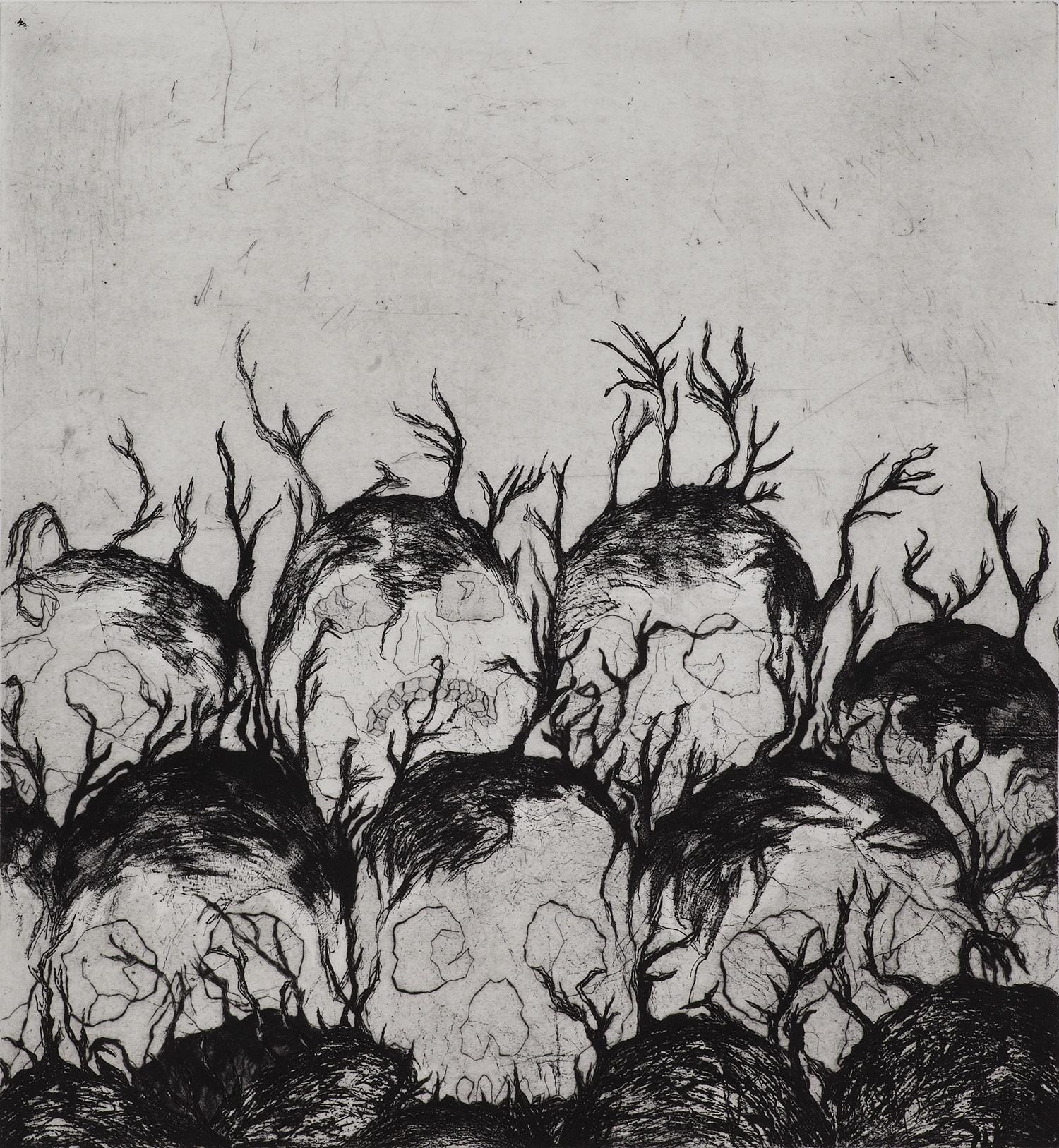 <i>Résistants aux intempéries</i>, 2010, 70x70cm