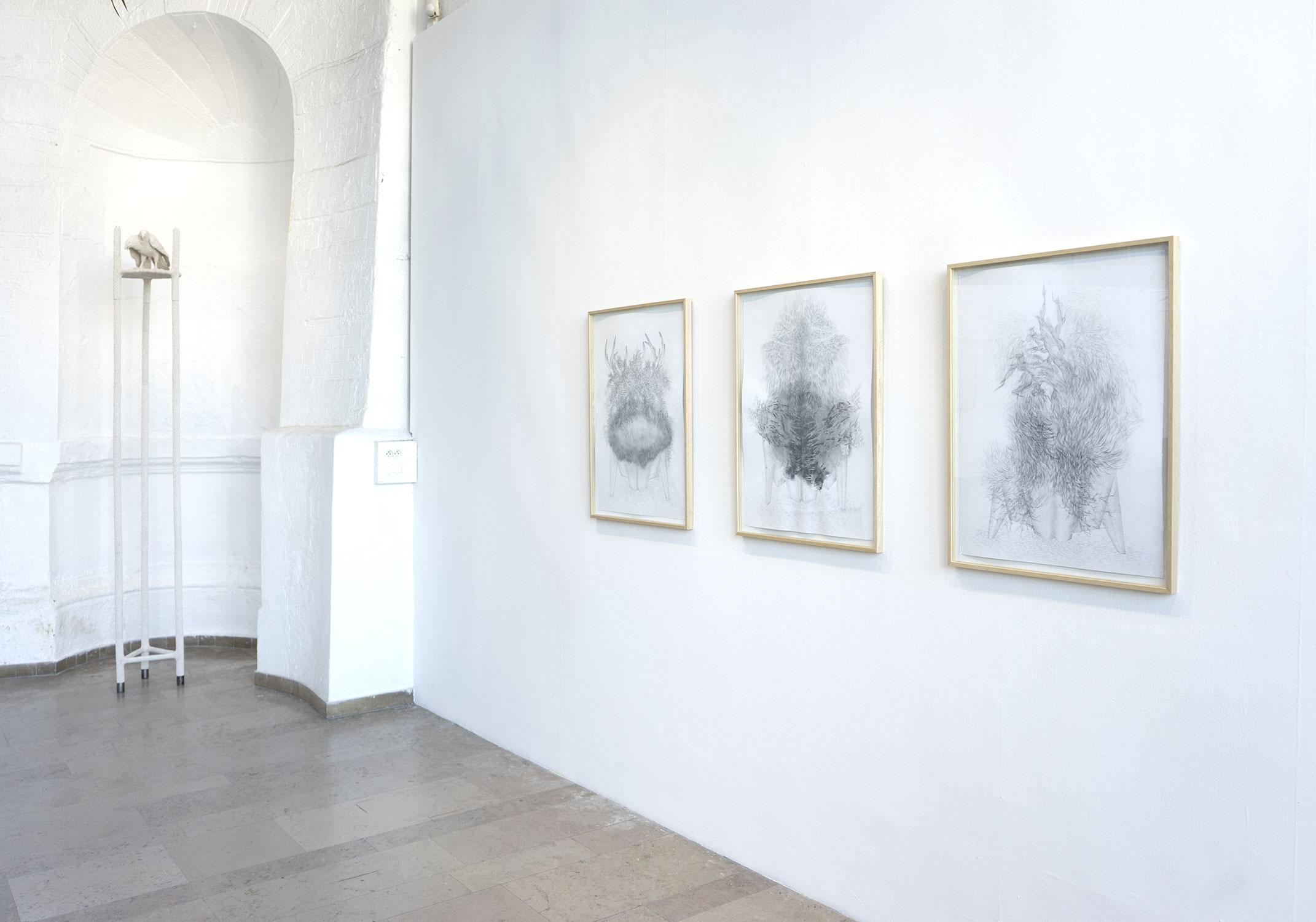 exposition <i>Autels</i> à La Serre, St Etienne, 2018
